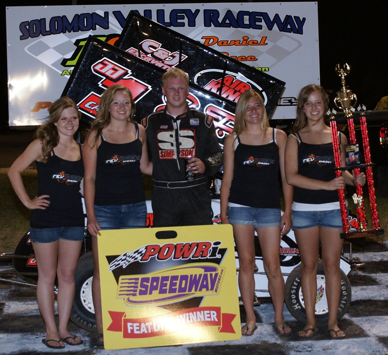 Chad McDaniel Memorial 06/04/2010 600 Mini Sprint Winner