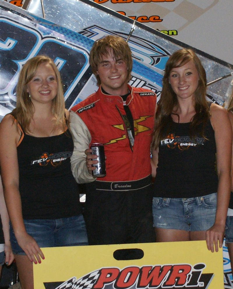Chad McDaniel Memorial 06/05/2010 600 Mini Sprint Winner
