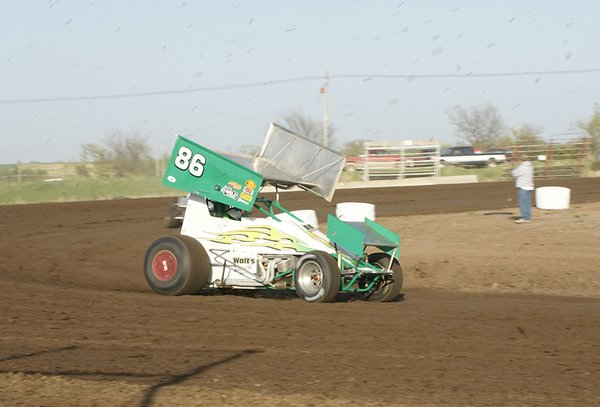 May 3 2008 Solomon Valley Raceway - Jayhusker Series, URSS Sprint Cars