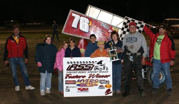 May 3 2008 Solomon Valley Raceway - URSS Sprint Cars A Feature Winner