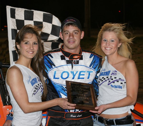 SMRS/USAC Midgets - May 15, 2009 - Brad Loyet A Featrue Winner