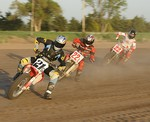 AMA Flat Track Motocycles May 17, 2008